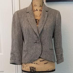 Tabitha linen blend blazer sz 6